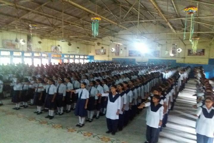 Jawahar Navodya Vidyalaya-Morning Assembly