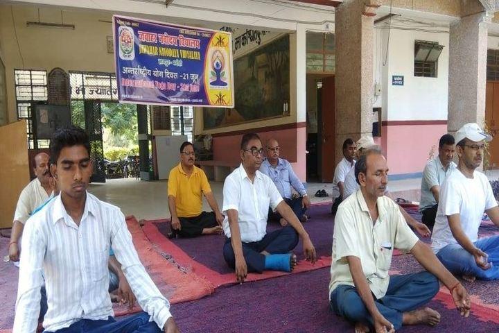 Jawahar Navodaya Vidyalaya - Yoga Day