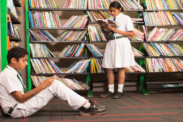 Delhi Public School - Library