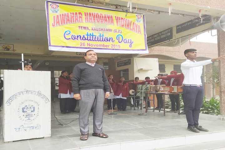 Jawahar Navodaya Vidyalaya-Consititution Day