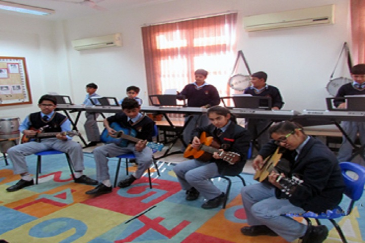 Jaypee Public School-Music Room