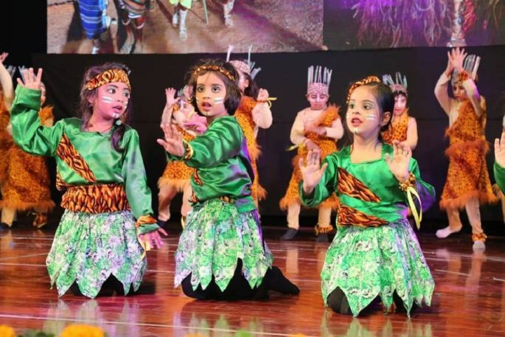 Jaypee Public School-Dance Performance