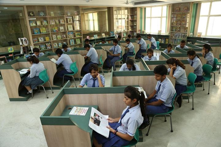 Jbm Global School-Library