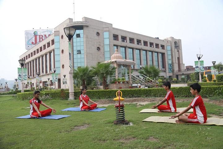 Jbm Global School-Yoga