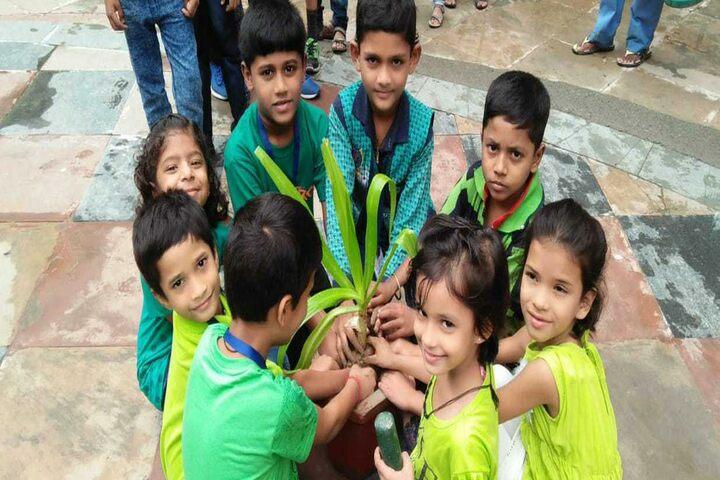 Jeevandeep Public School-Tree-Plantation