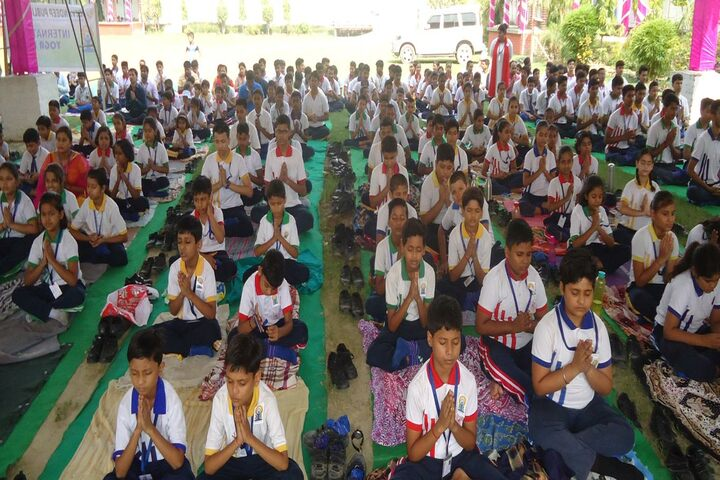 Jeevandeep Public School-Yoga