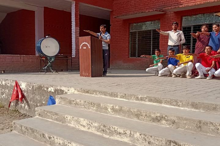 Jp-Sd International School-Assembly