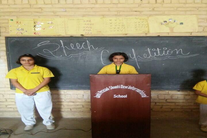 Jp-Sd International School-Speech Competition