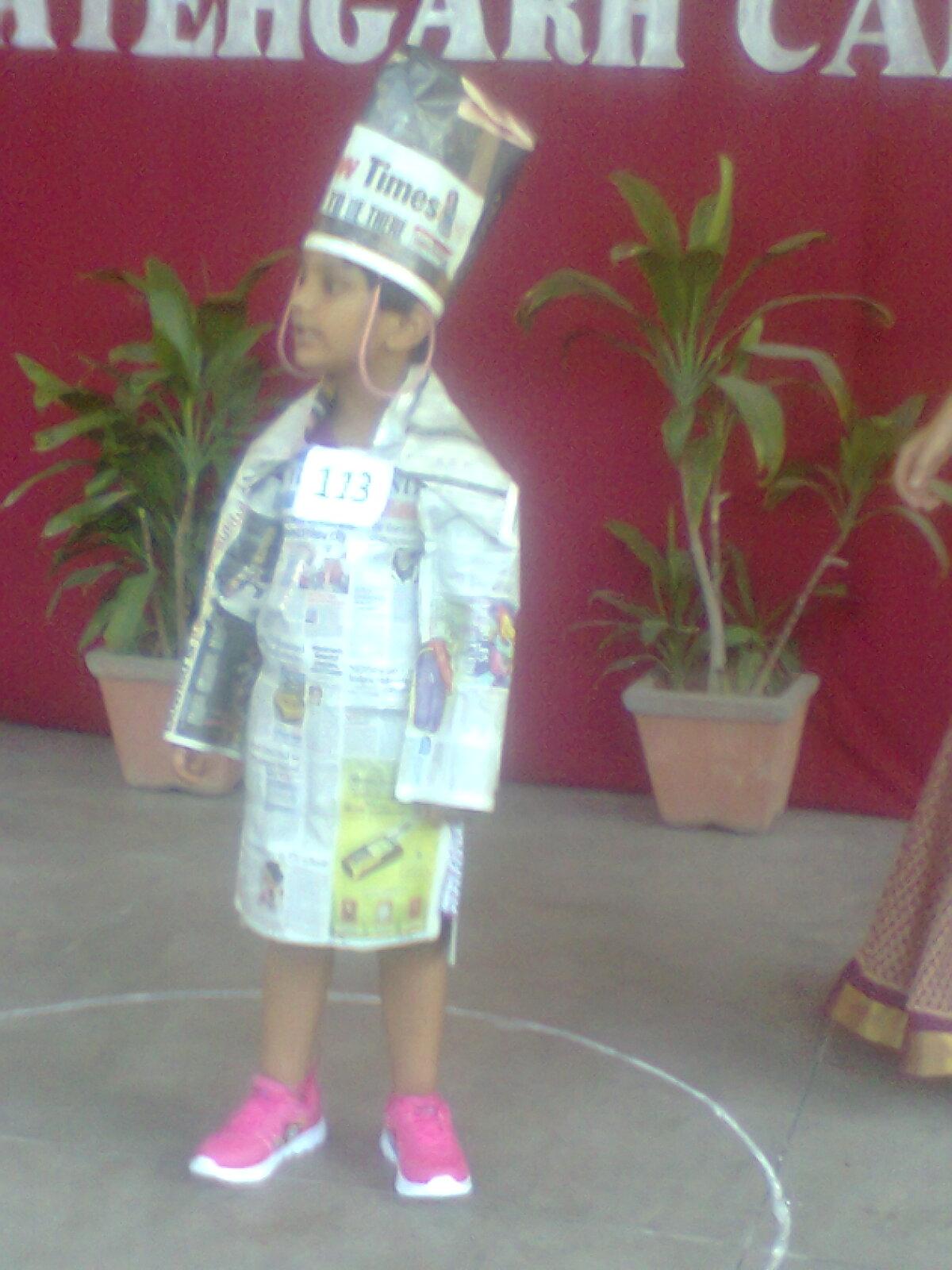 Jsm Public School-Fancy Dress Competition