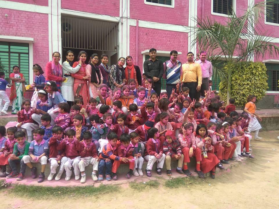 Jsm Public School-Holi Festival Celebration