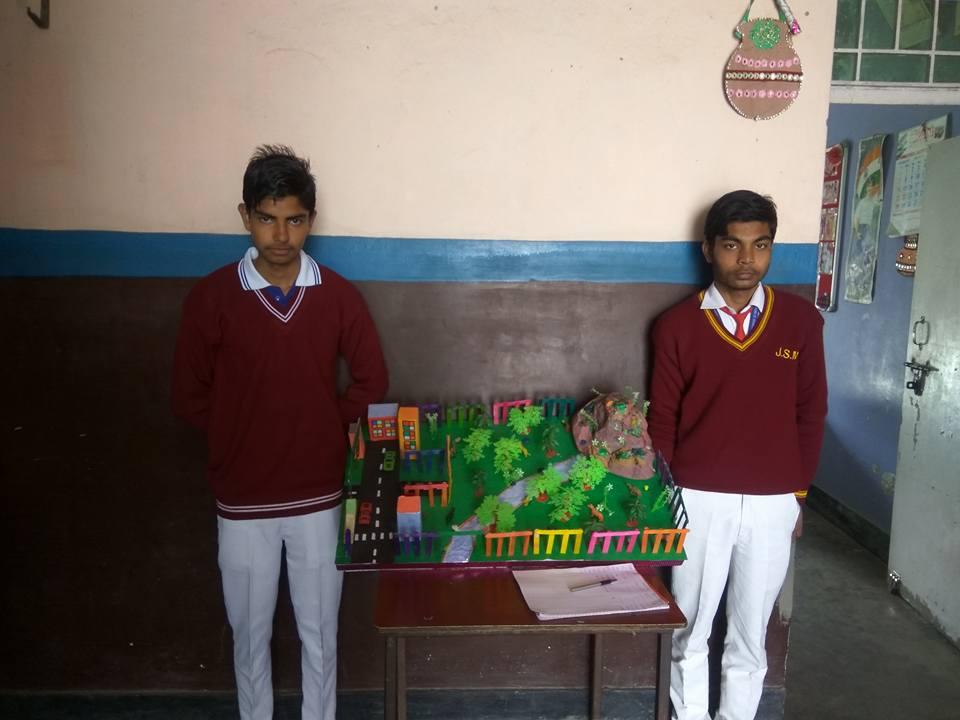 Jsm Public School-Science Exhibition