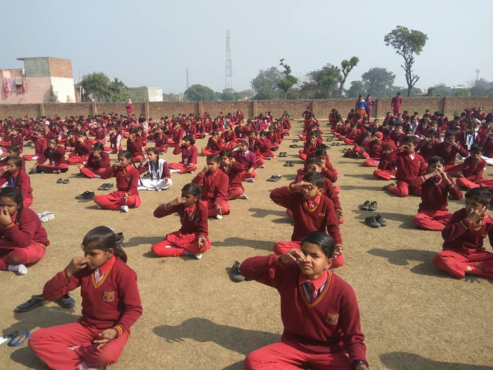 Jsm Public School-Yoga