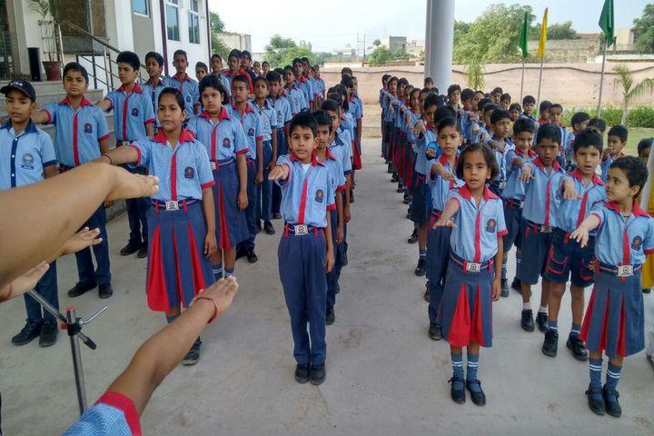 K C International School-Assembly