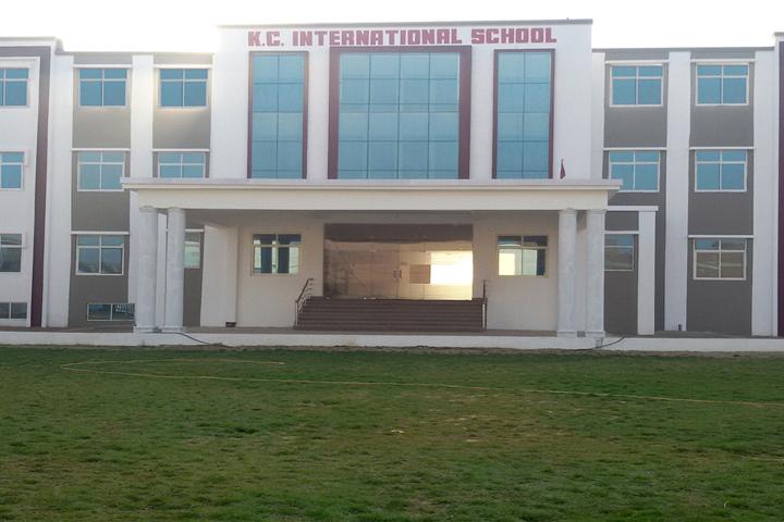 K C International School-Building