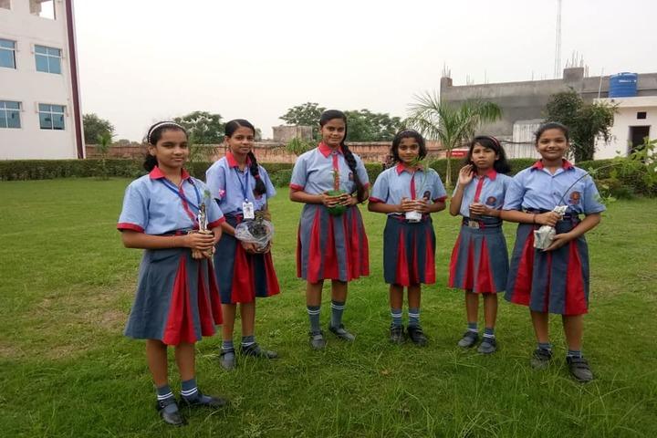 K C International School-Plantation Activity