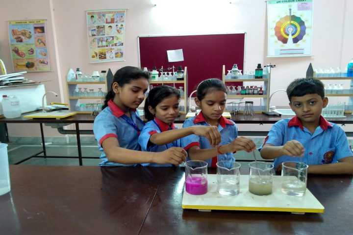K C International School-Science Lab