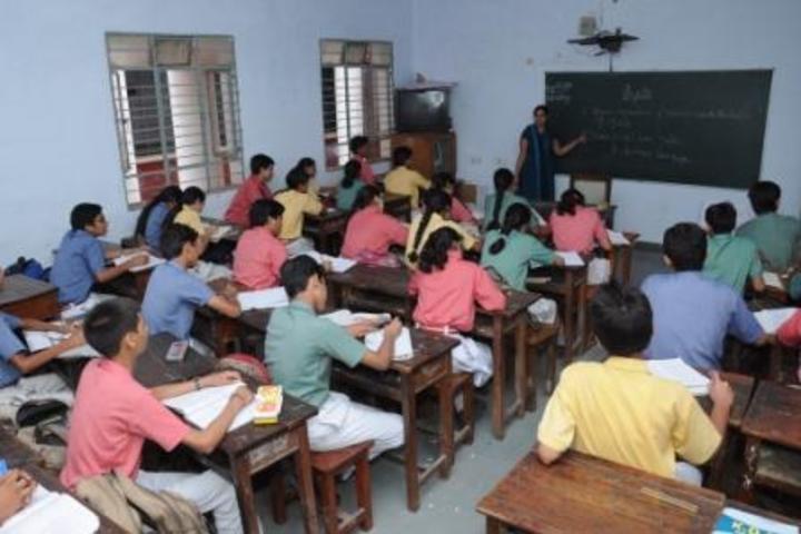 K D B Public School-Classroom