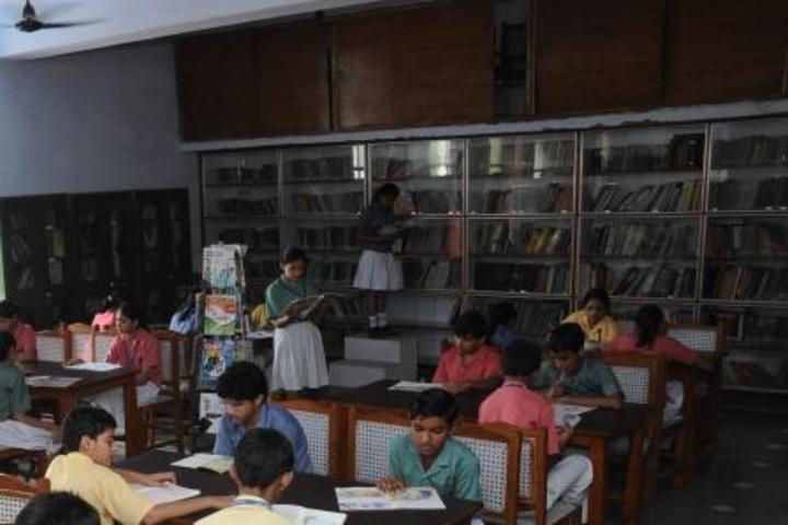 K D B Public School-Library
