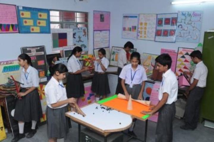 K D B Public School-Maths Lab