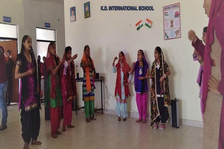 K D International School-Dance