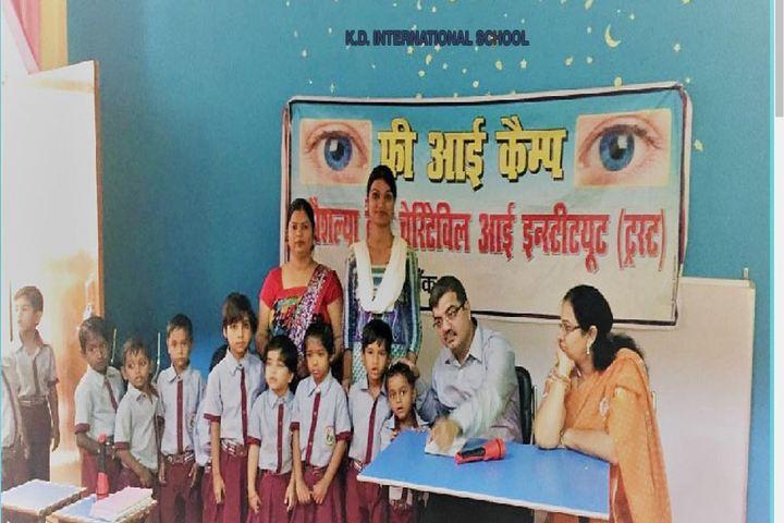 K D International School-Medical Checkup View