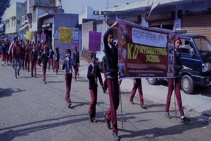 K D International School-Rally