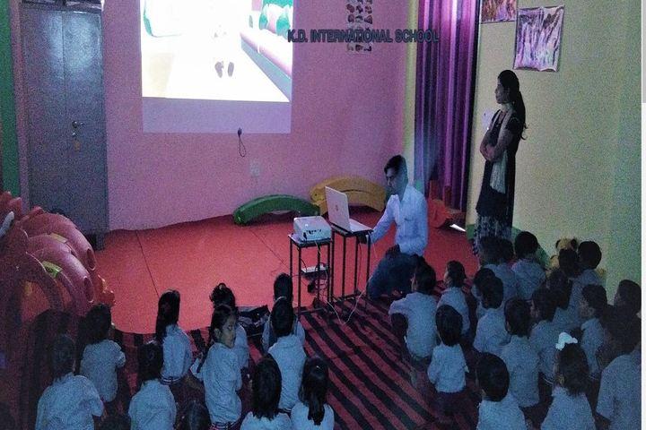 K D International School-Smart Class View