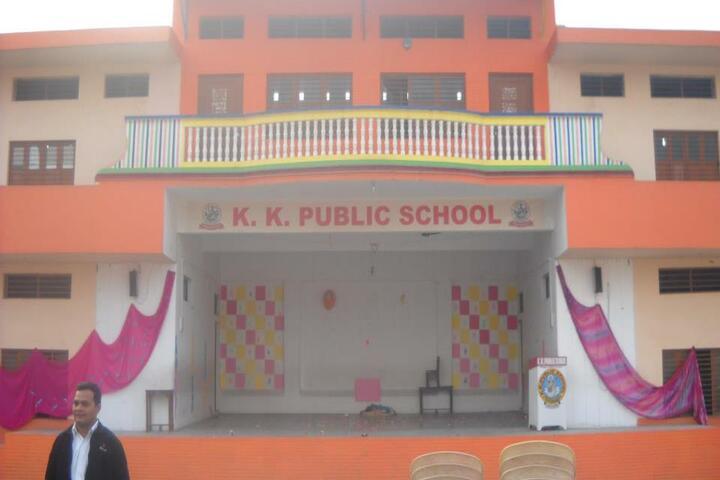 K K Public School-Front View
