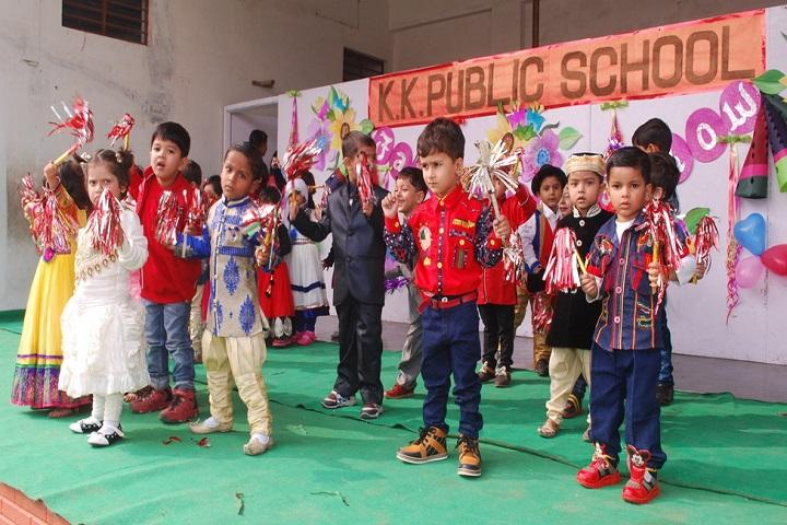 K K Public School-Kids Dance