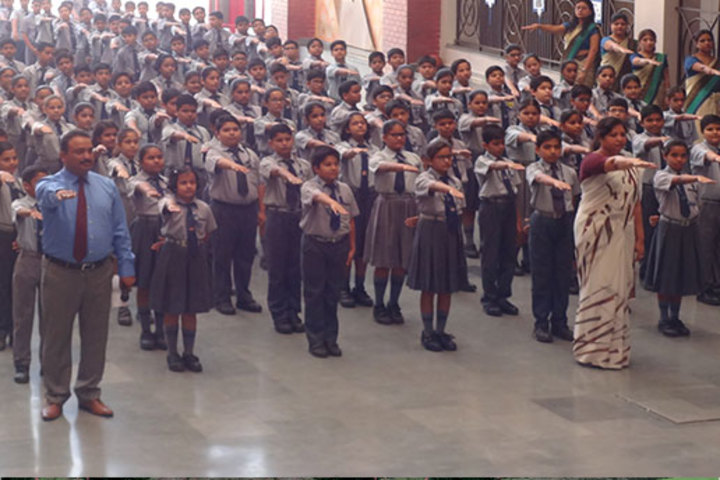 K L International School-Assembly