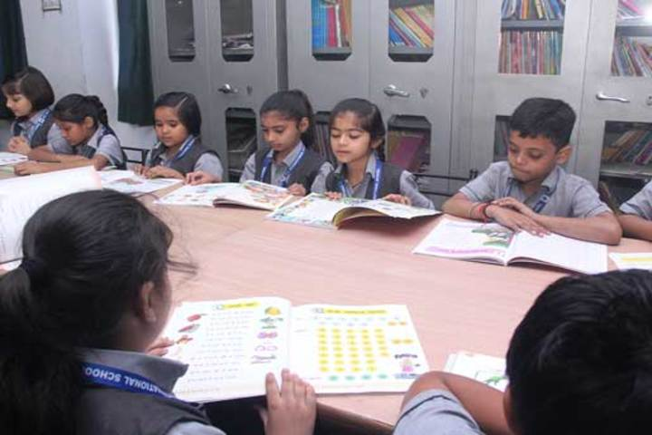 K L International School-Library