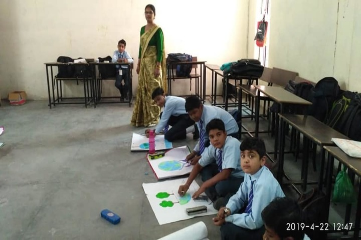 K. D. Public School-Drawing Competition