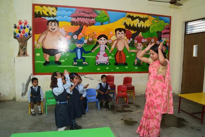 K. D. Public School-Kindergarten Class