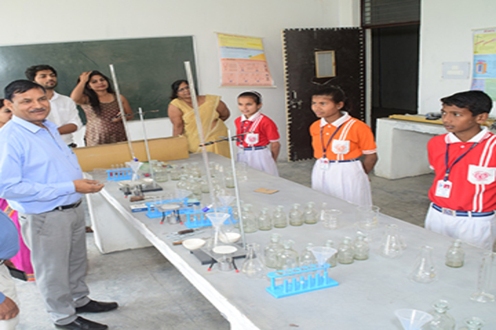 K. D. Public School-Science Lab
