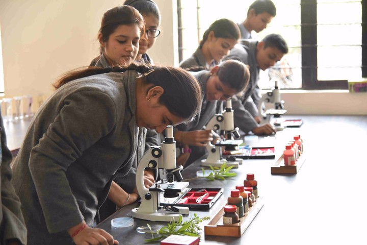 K. L. G. Public School-Biology Lab