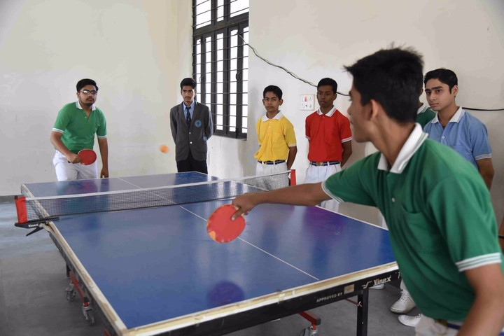 K. L. G. Public School-Indoor Games View
