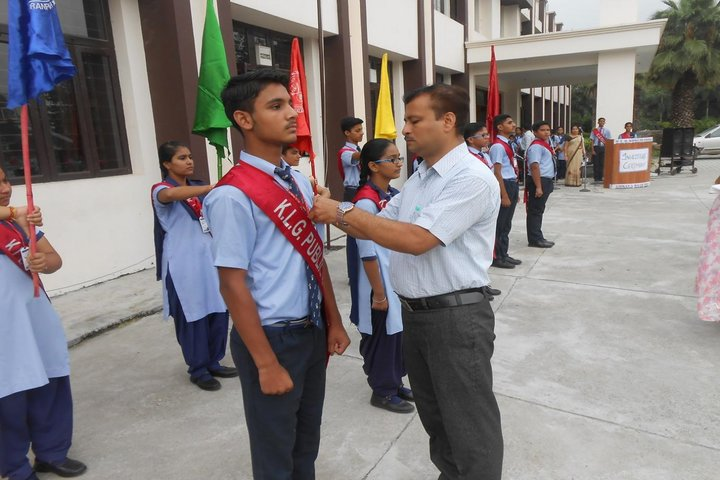 K. L. G. Public School-Investiture Ceremony