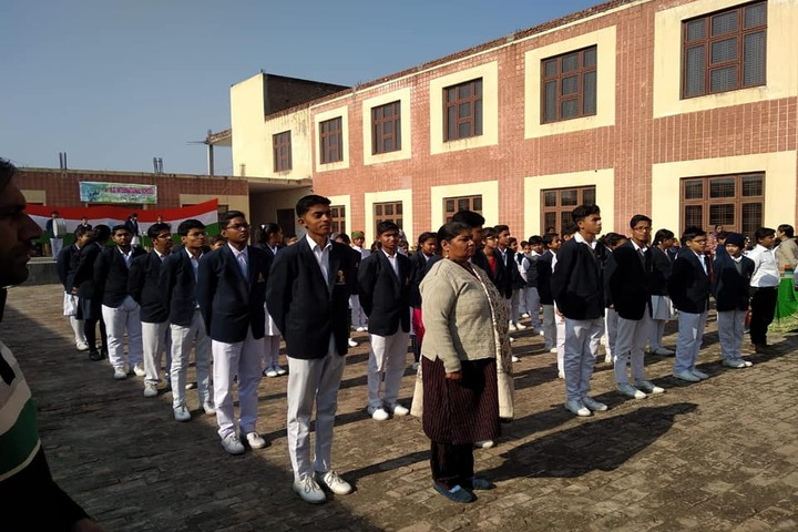 K D International School-Assembly