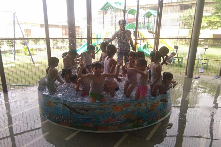 K D International School-Pool Fun