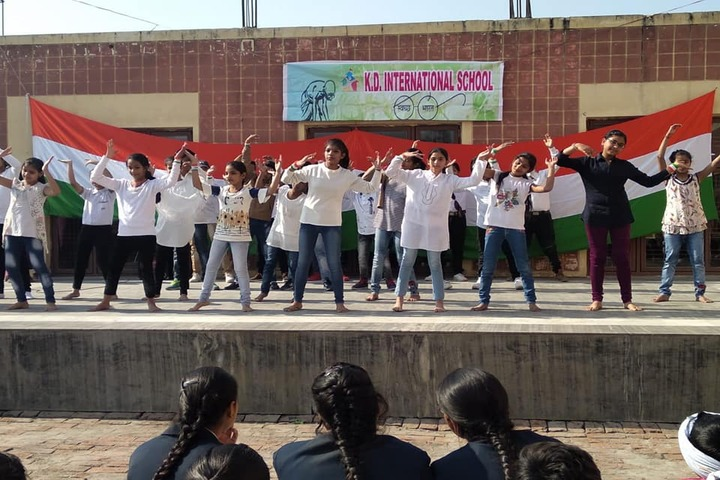 K D International School-Republic Day