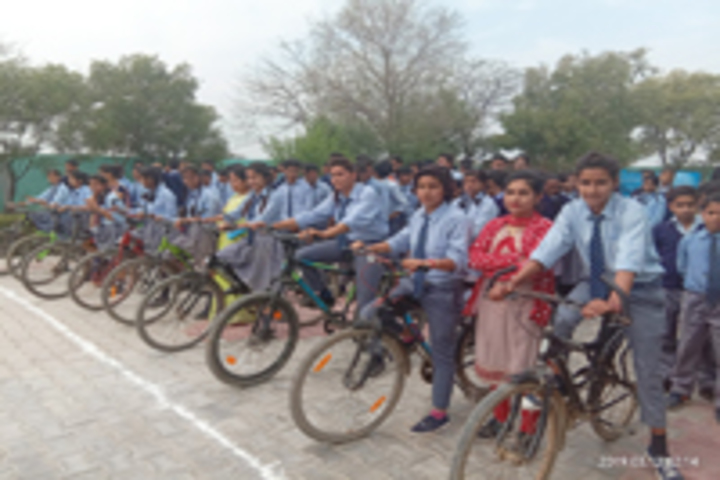 K.D.S International School-Cyclerace Competition