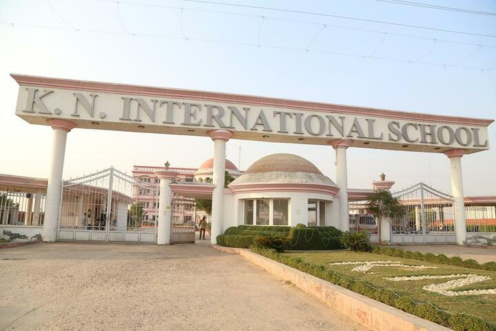 K.N.International School-School Entrance View