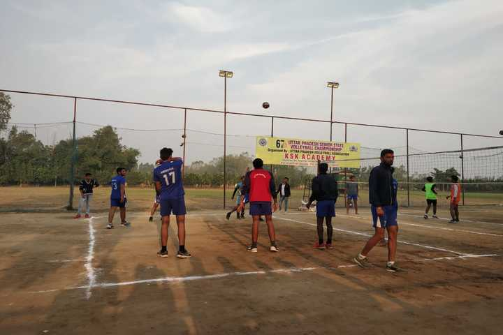 K S K Academy-Volley Ball Court