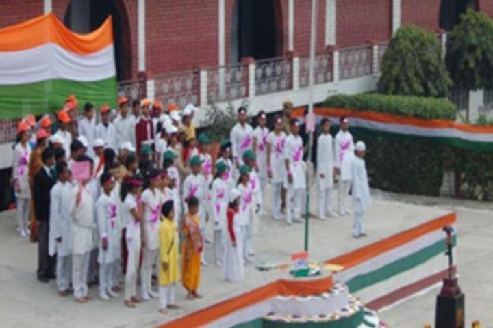 Kamla Nehru Bal Shiksha Sansthan-Independence Day Celebrations