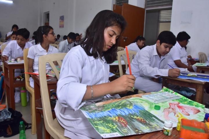 Kanyakubja Public School-Drawing Competition