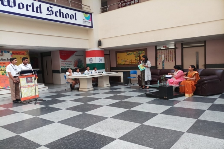 Kaushalya World School-Debate