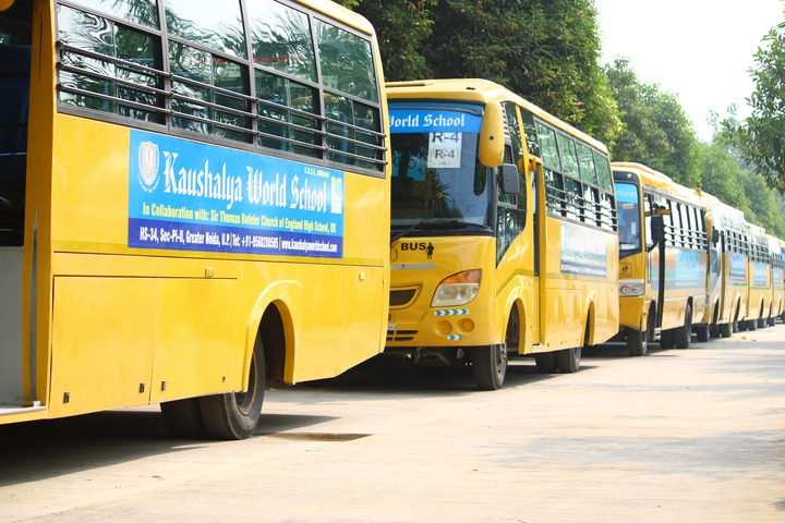 Kaushalya World School-Transport