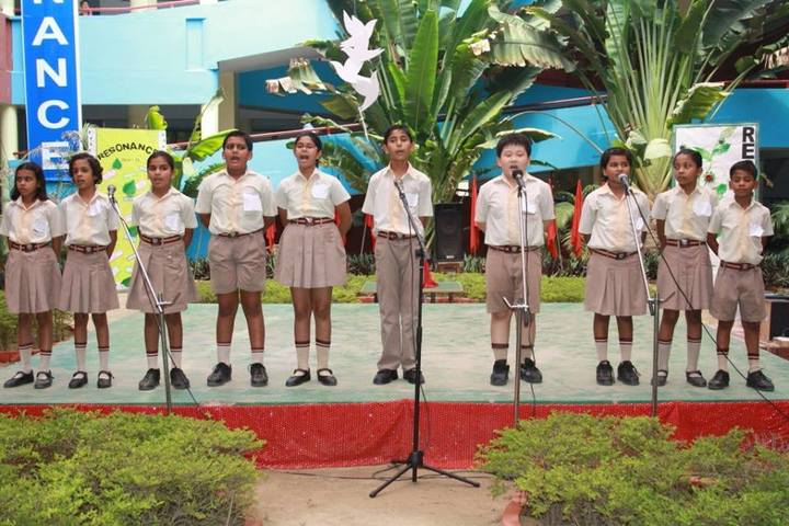 Kaushalya World School-Singing