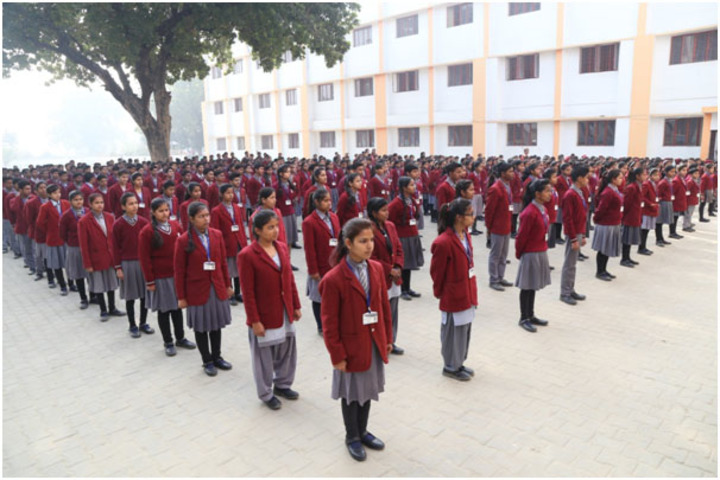 Kaushambi Public School-Assembly View
