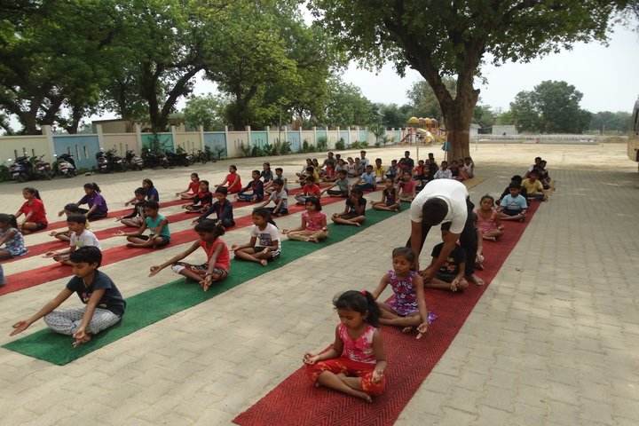 Kaushambi Public School-Yoga